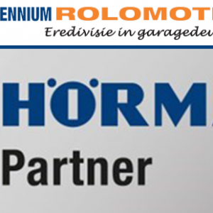 Millennium Rolomotive is Hörmann premium partner van het jaar