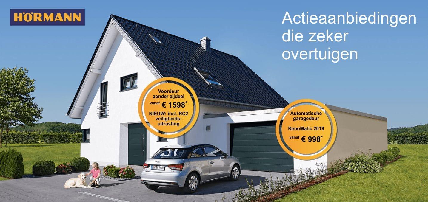 Elektrische Garagedeuren Millennium Rolomotive Bv