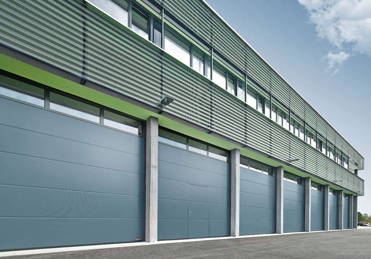 Industriele garagedeuren