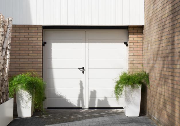 openslaande garagedeur hormann
