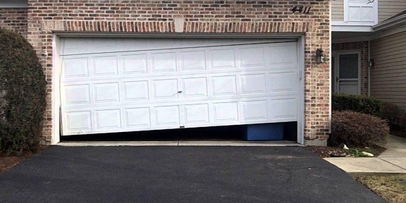 Garagedeur kapot